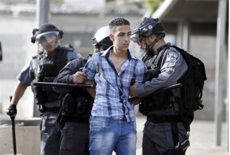 Arab rioter arrested in Jerusalem