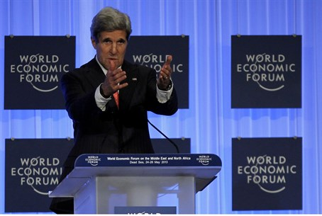 Kerry at the World Economic Forum in Jordan