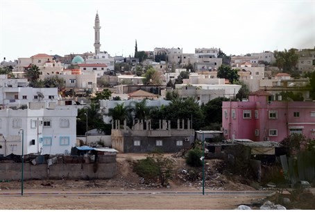 The Bedouin city of Rahat