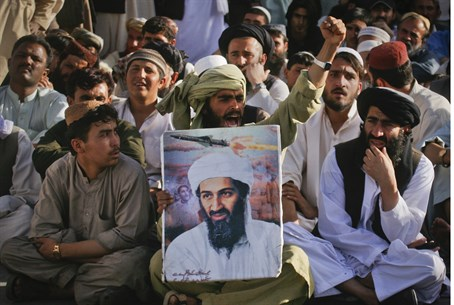 Al Qaeda supporters in Pakistan