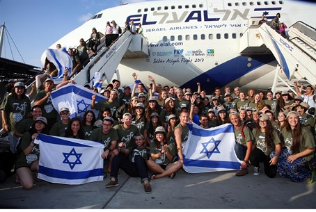 Soldiers arriving to make Aliyah (file)