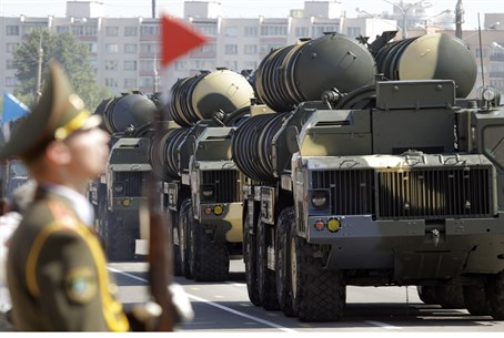 Illustration: S-300 missile defense batteries