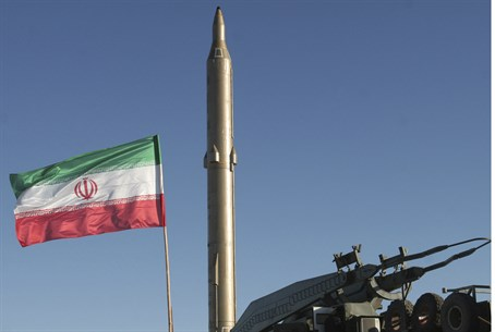 (Illustration) Iranian ballistic missile on s
