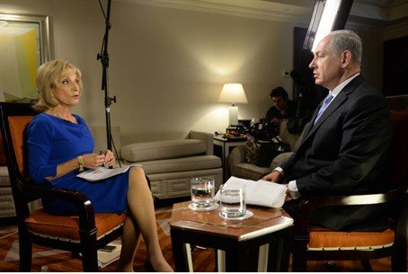 Netanyahu interviewed by NBC