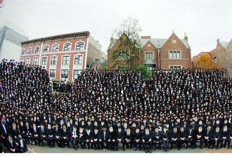 Thousands of Chabad Rabbis