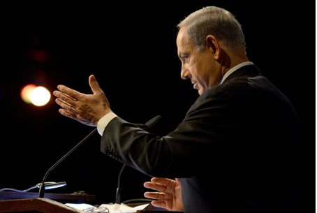 Netanyahu speaks at the alternative fuel and