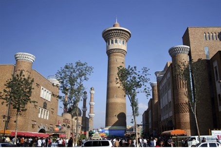 Mosque in Xinjiang (Illustrative)