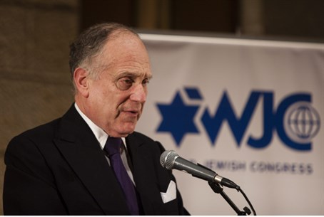 Ronald Lauder, head of WJC.
