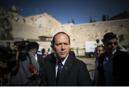 Nir Barkat, October 2013 (file)