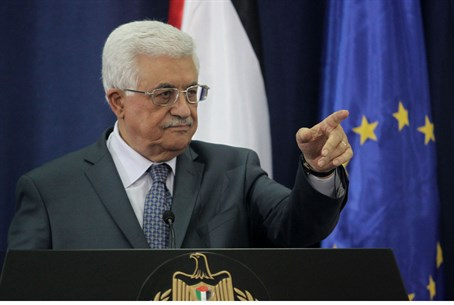 Palestinian Authority Chairman Mahmoud Abbas