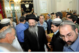 Rabbi Melamed at Har Bracha