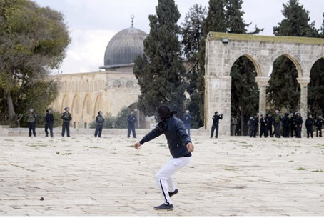 Riots on the Temple Mount