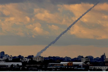 Rocket fired from Gaza (archive)