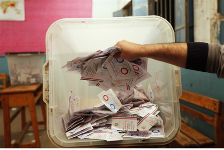Ballots counted after referendum on Egypt's c