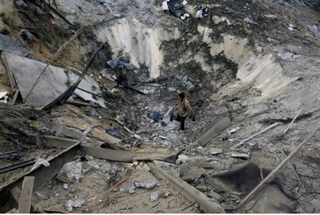 Terror site in Gaza struck by IAF