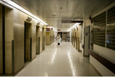Hospitals empty due to strikes (illustrative)