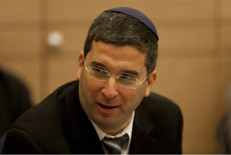 Deputy Education Minister Avi Wortzman