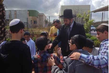 Chief Rabbi David Lau in Sderot