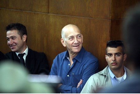 Olmert in court