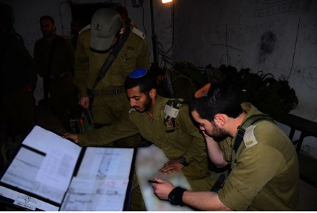 Nachal Haredi soldiers in this week's exercis