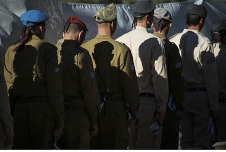 IDF soldiers, Memorial Day (file)