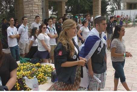 Young Judea at Har Herzl