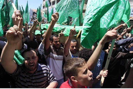 Hamas supporters (file)