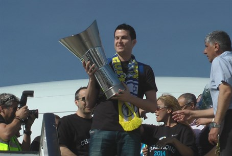Maccabi Tel Aviv's Victorious Homecoming