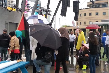 """Nakba Day"" in Montreal"