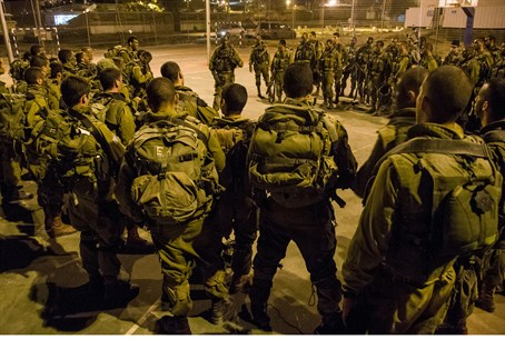 Preparing for operation in Shechem.