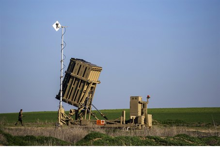 Iron Dome deployed in Ashkelon