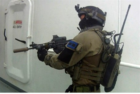 Israeli navy commandos in action (archive)