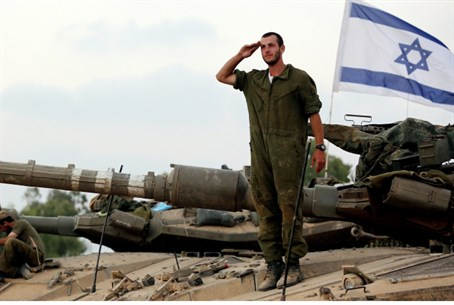 IDF in Gaza (illustrative)