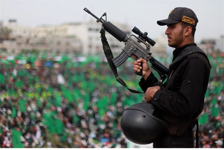 Hamas police in Gaza (file)