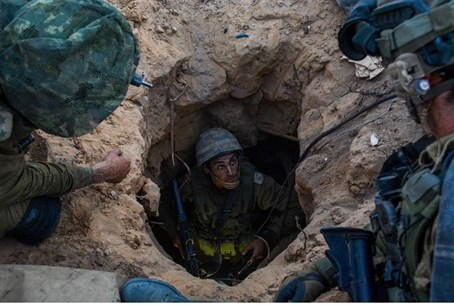 IDF finds Hamas terror tunnel