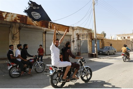 Islamic State supporters celebrate capture of