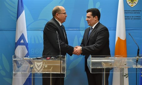 Ya'alon and Cypriot counterpart