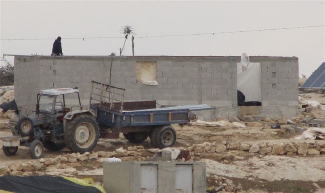 Palestinian construction in area C