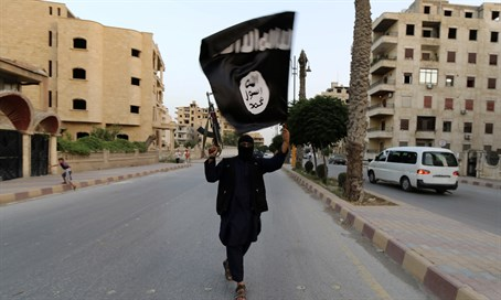 ISIS terrorist in Syria (file)