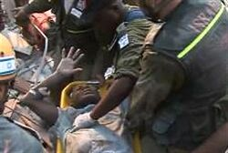 IDF rescuers in Haiti after January 2010 Quake disaster