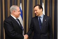 Netanyahu and Polish Foreign Minister