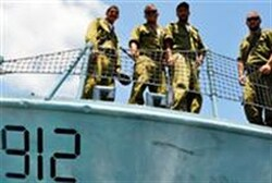 Navy deals with daily maritime terror threat