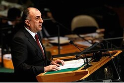 Elmar Mammadyarov, Foreign Minister of Azerbaijan, addresses the 67th session of the United Nations