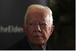Former US Pres Jimmy Carter