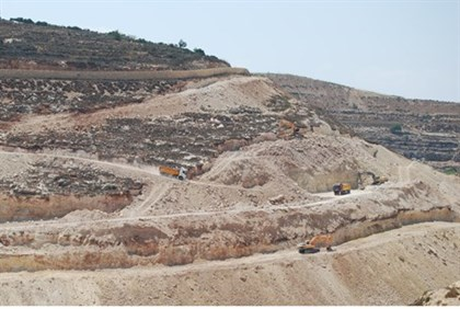 Preparing for more construction at Ramat Givat Ze'ev