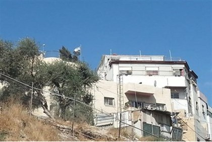 Home purchased by Jews in City of David