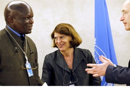 Chairman of UNHRC commission of enquiry into Gaza war Mary McGowan Davis